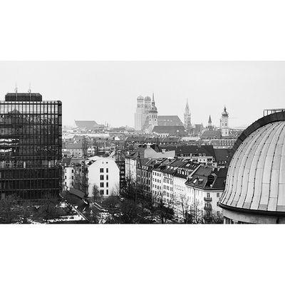 View of the City . At the DeutchesMuseum Deutches museum. Taken by MY SonyAlpha dslr A57 . münchen Munich bayarn Bavaria Germany Deutschland. متحف ميونخ المانيا بافاريا