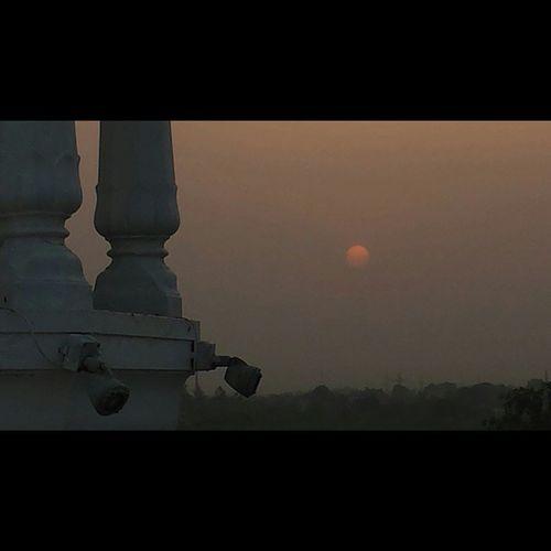 Tatooine Sunset in ANANDPURSAHIB Gurdwara AnandGharh Punjab India setlife doclife Sikh sikhlife