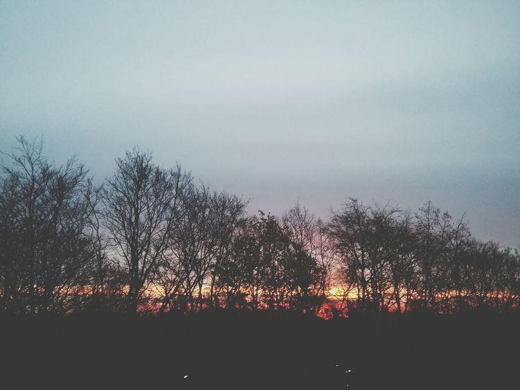 Barmbek Sunrise II. · Hamburg Germany Sun Clouds Colors Good Morning