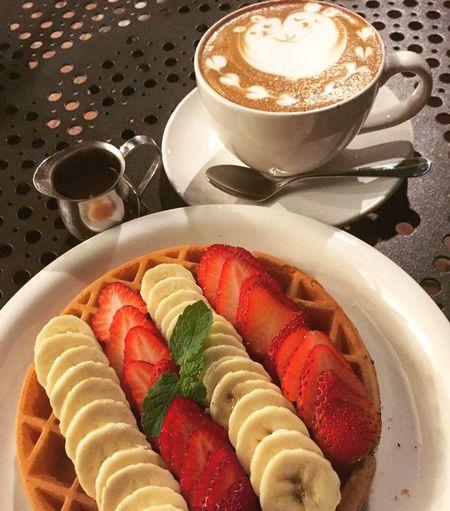 Spent wonderful time at a café ☕️ Cafe Cafe Time Wonderful LoveThisMoment