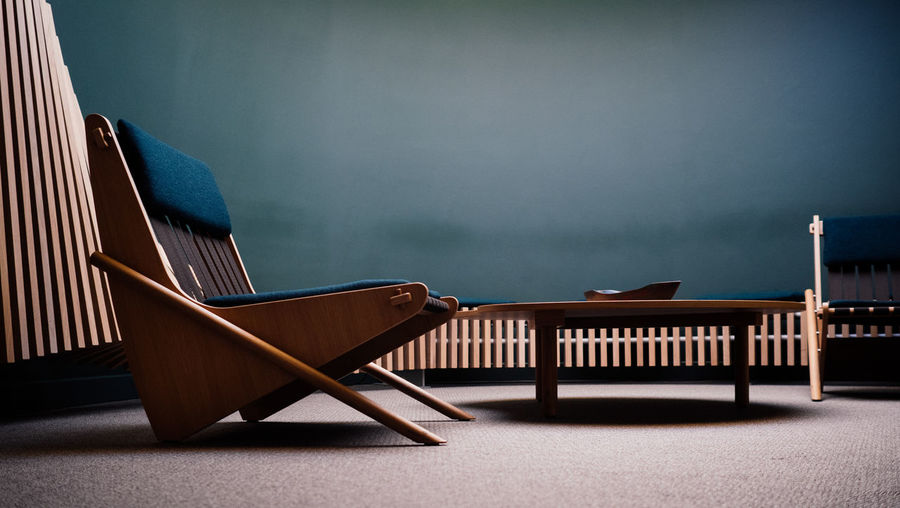 The anteroom of an senator - Chair Modern Workplace Culture Anteroom Design Furniture Furniture Design Interior Interior Design Minimalism Modern Design Table