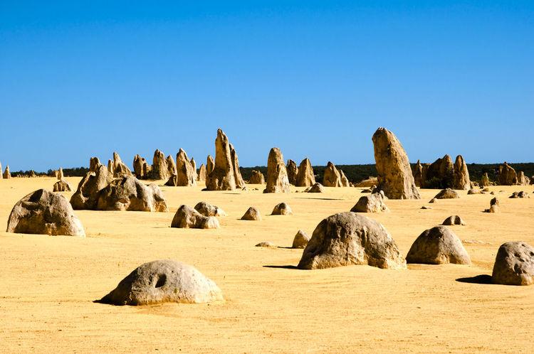 The Pinnacles - Australia Australia Desert Pinnacles The Pinnacles Arid Climate Geology Karst Nambung National Park Rock - Object Sand
