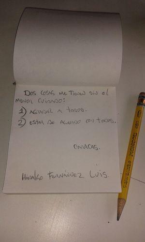 Writting Thinking Paper Pencil Mongol Eneltexto Caracas Venezuela Venezuelan