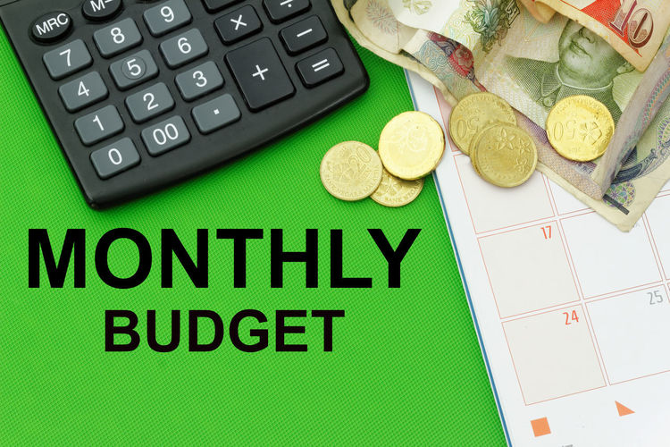 Monthly budget Budget Monthly Savings Monthly Budget Business Corporate Business Budget Calculator Finance Wealth Government Inspiration Exchange Rate Money Coin Bank