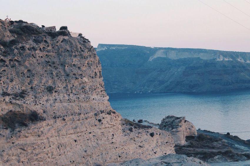 Santorini, Greece. Santorini Europe Travel Summer Water Sea Cliff