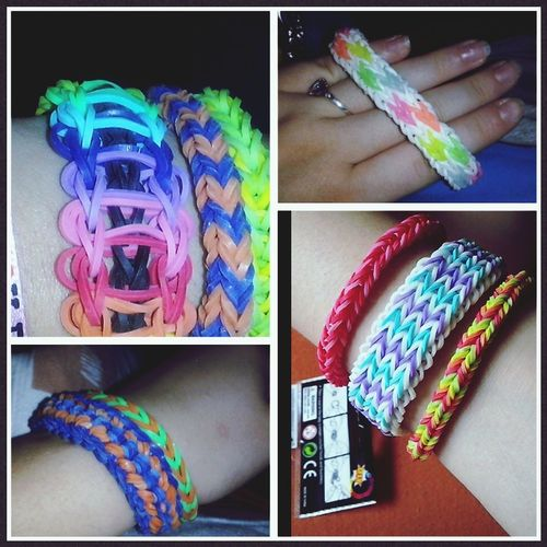 Rainbow Loom Bracelet Kreatives My Baby Make Me Happy ((;