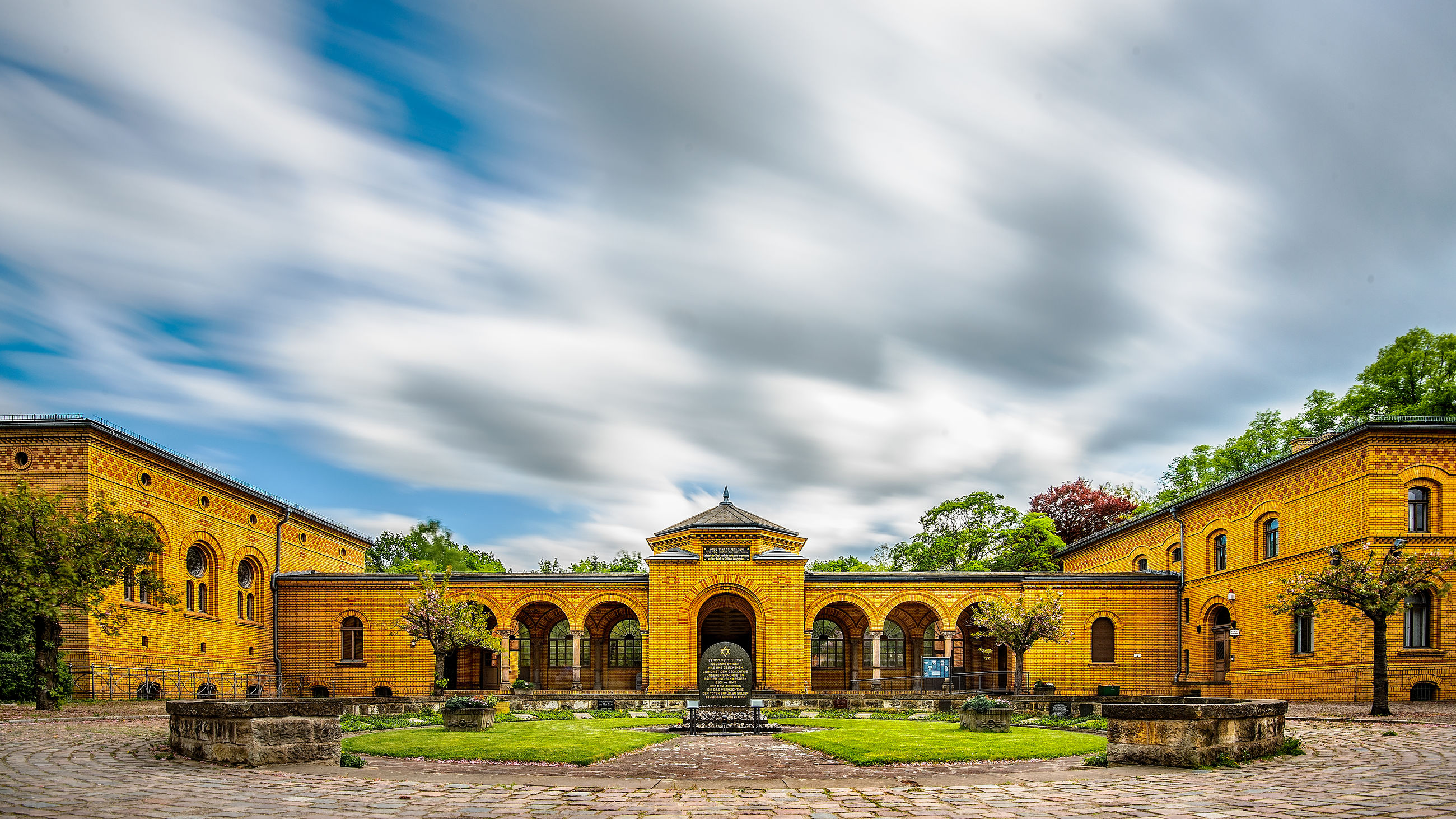 architecture, built structure, cloud - sky, sky, building exterior, arch, nature, building, history, day, the past, plant, no people, tree, outdoors, travel destinations, religion, belief, place of worship