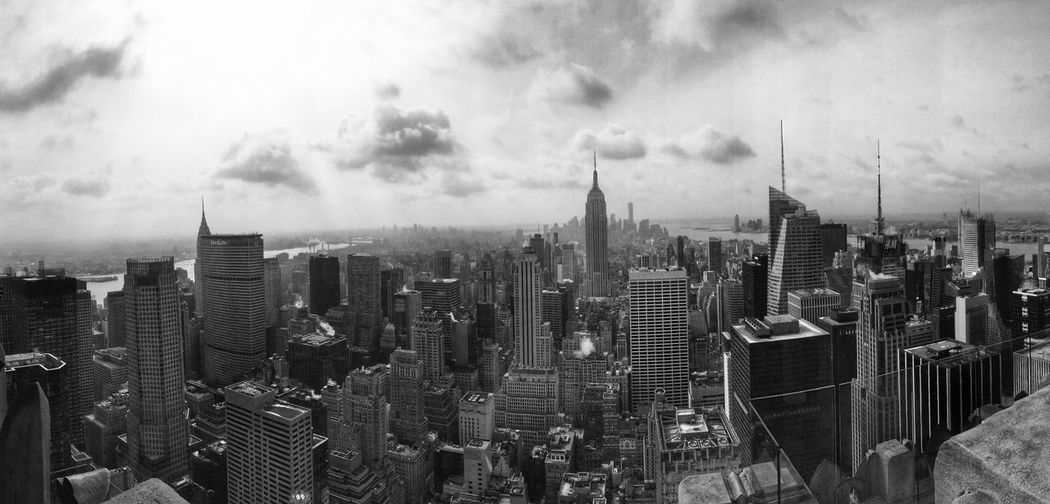 Architecture Monochrome Blackandwhite New York City Topoftherock Manhattan City New York Urbanphotography Urban Architecture_collection America