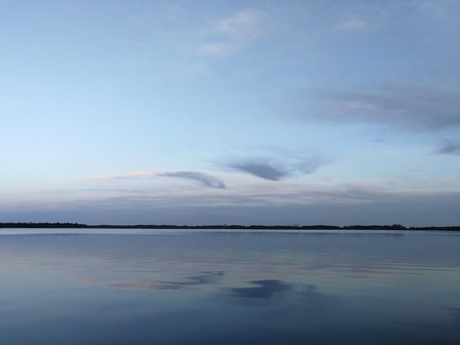 Reflection Beauty In Nature Landscape Scenics Cloud - Sky Tranquility Nature Horizon Over Water Lake