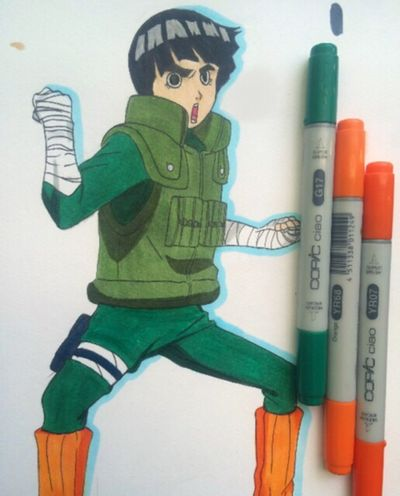 Rock Lee Naruto Rocklee First Eyeem Photo