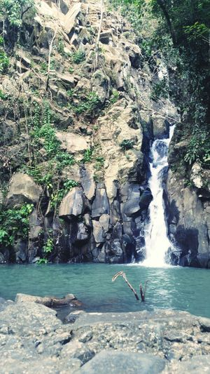 The 1st level waterfall. Philippines Nature Bacolod