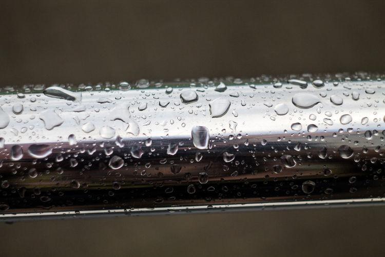 Close-up Drop Freshness Indoors  Nature No People Rain RainDrop Rainy Season Refreshment Selective Focus Transparent Water Wet