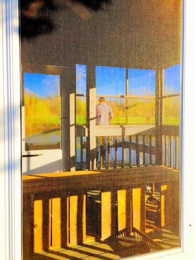 Blue Day Dock Gazebo Nature Outdoors Pondhouse Sky Sunlight Water The Following 43 Golden Moments