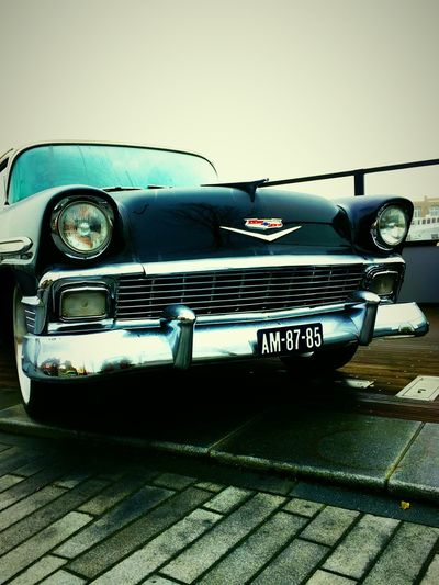 A classic Chrysler, just standing there on the pavement ... Classic Car Chrysler No People City The City Light