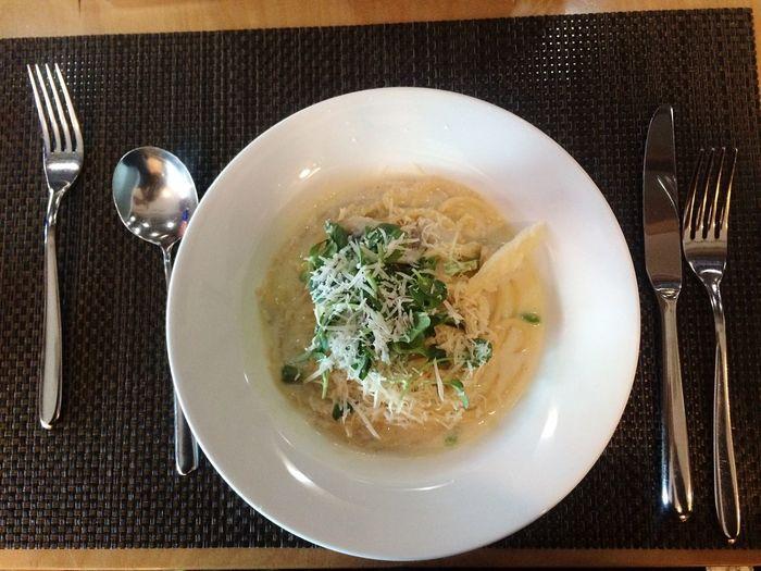Cream Pasta Pasta Lunch Food