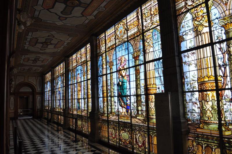 Art Is Everywhere Castillo De Chapultepec Castle Cdmx Vitral