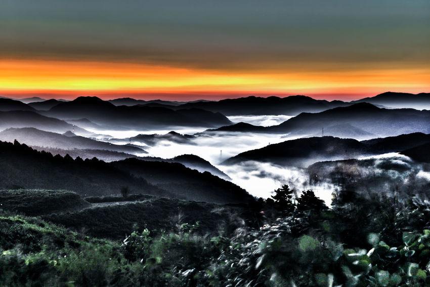 Canon Canon EOS 5D Mark II Landscape Cloud Sea (雲海) Cloud Sigma2470 HDR South Korea 'K' The Life Spectrum