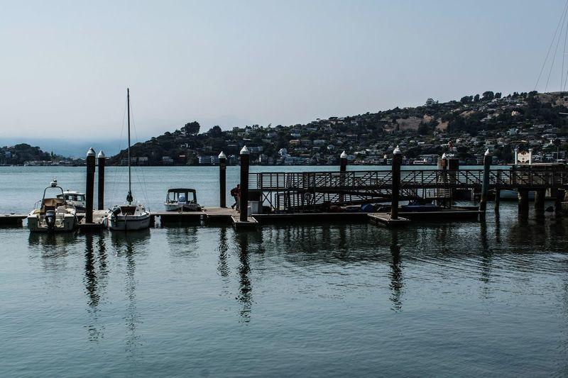 Water Nautical Vessel Sea Harbor Moored Reflection Gondola - Traditional Boat Sky Sailboat Marina
