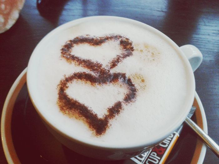 Cappuccino two hearts in just one mind Phil Collins