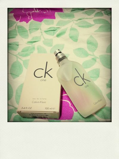 Eau De Toilette Calvin Klein Birthday gift from my sister. (Thank you!!!)