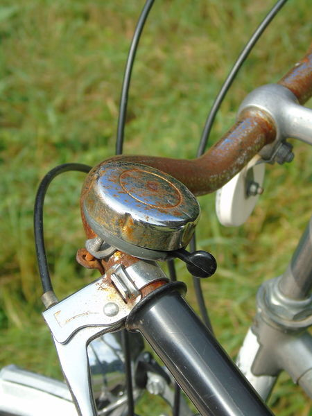 Bycicle Close-up Cropped Day Focus On Foreground Handlebar Hello World Holding Make A Break Metal My Point Of View Outdoors Part Of