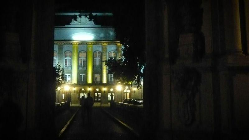 Nachtaufnahme Langzeitbelichtung Nachtfotografie Dresden Altstadt