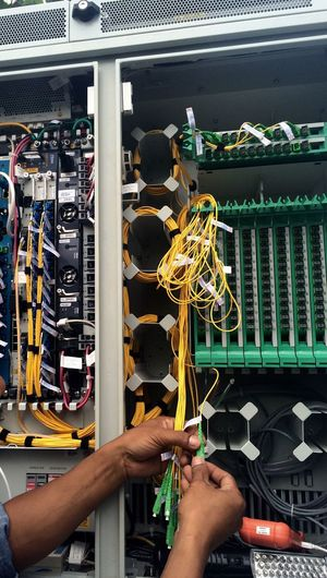 Telecommunications Fiber Optics Internet Technology Engineering Engineer Technical Installation Ultra Hispeed Optical Instruments