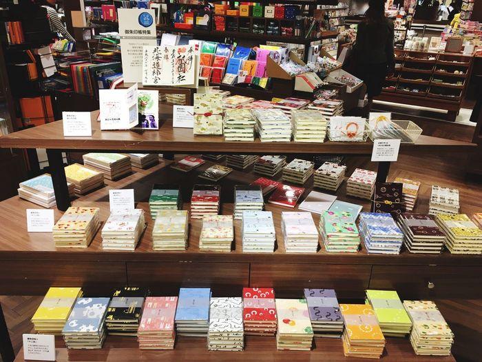 8175inc.の御朱印帖+。阪急うめだ本店10階の文具雑貨マルシェで、今日から2週間ポップアップストアやってます!