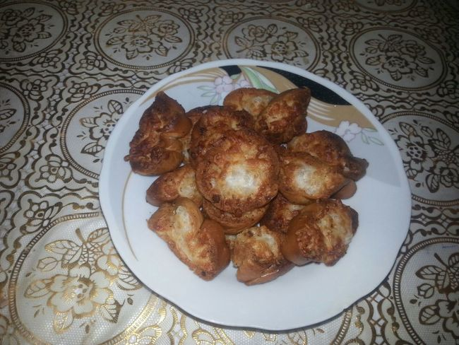 Dessert Food Garlic Bread Ready-to-eat Taking Photos