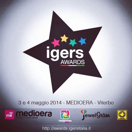 Parte il progetto IgersAwards per dare valore non solo alle Immagini ma anche agli utenti. Partecipare è facilissimo: - registrati sul sito - esprimi un voto - nomina altri igers - partecipa alla votazione finale scegliendo fra i candidati in lizza Gli Igers Awards verranno consegnati il 3 Maggio in occasione di @medioera a Viterbo Medioera14 : http://bit.ly/1pFnQeu