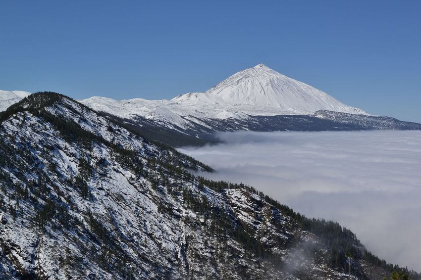 El Teide Tenerife Teide Snow Canarias SPAIN Landscape_photography Paisajes únicos NikonD3100 My Country In A Photo Landscape_Collection