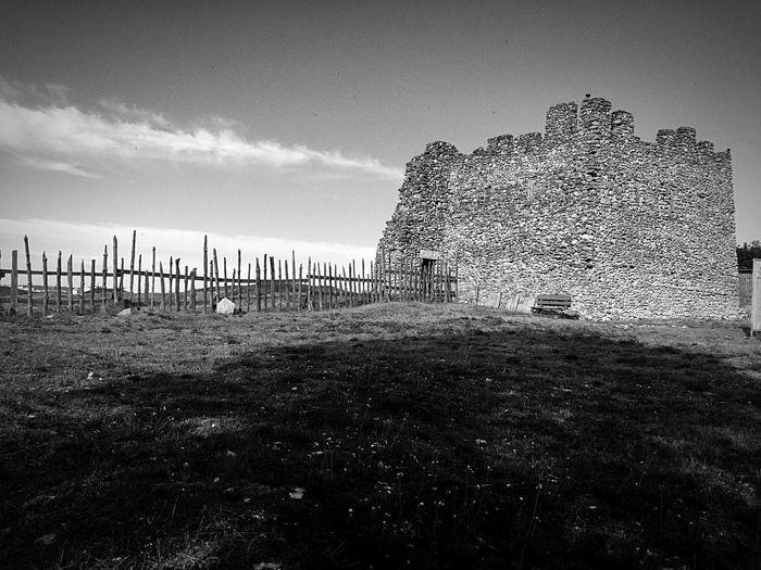 No People Castle Ruin