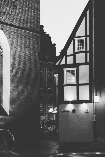 Gdansk (Danzig) Gdansk_official Staremiasto Oldtown Timbered House Bricks Pattern, Texture, Shape And Form Patterns & Textures Textures Black & White Black & White Photography Bw_collection Bw_lover