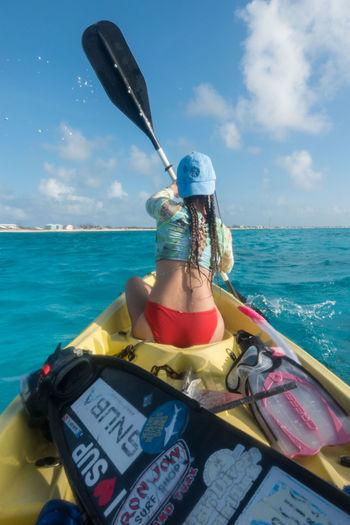 🛶 Kayaking our