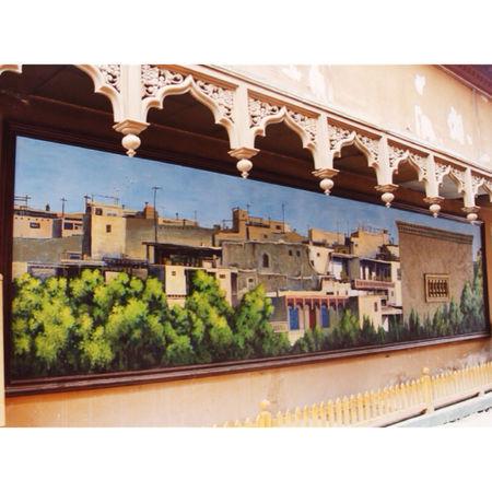 Kashgar old city Kashgar Painting