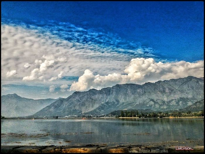 """"""" Only the wind knows.. where it'll carry our dandelion souls.."""" Fine Art Photography On The Way InLoveWithNature Roadtrip Srinagar  Kashmir Cloudscape Cloudsporn Lakeside Lake View Myloveforphotography Clicked By Me"""