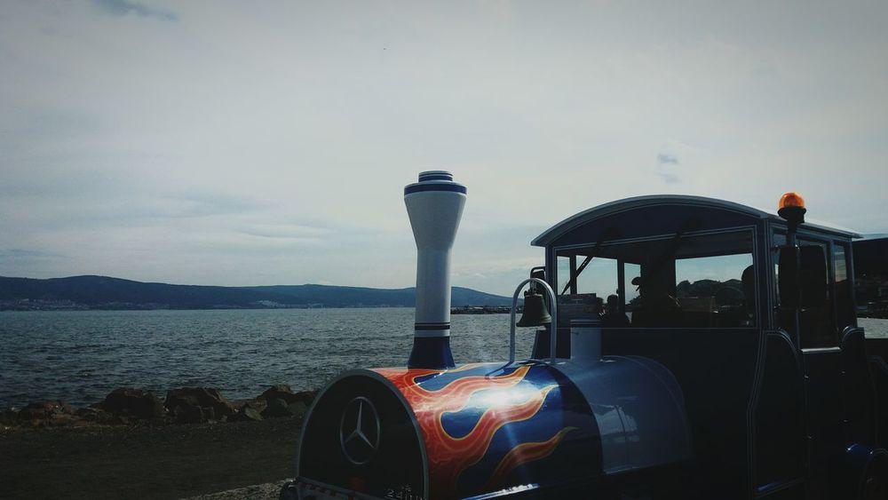Train Tourist Train Sea Summer Nessebar Bulgaria <3 Mercedes Beauty In Nature