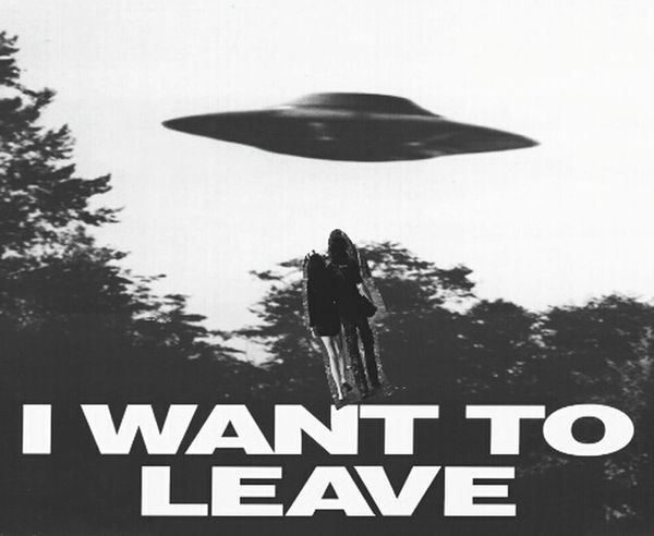 Funny Pic Art, Drawing, Creativity Happy Couple Lovelovelove UFO U.F.O. Get Well Soon!
