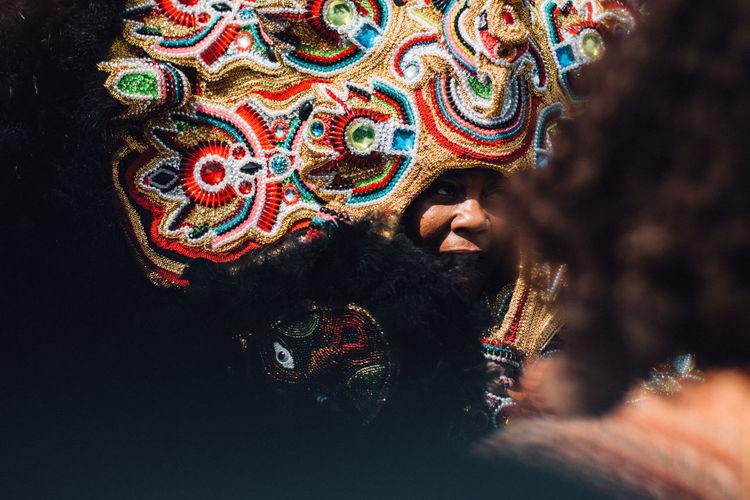 50mm Canon Close-up Couleur Deep South Digital La Nouvelle-Orléans Lifestyles Louisiana March 2014 New Orleans Portrait Selective Focus Sud Profond Super Sunday The Street Photographer - 20I6 EyeEm Awards U.S.A Unrecognizable Person USA États-Unis