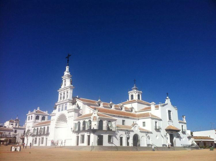 Ermita del Rocio ,Almonte ,Huelva estaes_hispania Estaes_andalucia Estaes_huelva El Portil (Huelva)