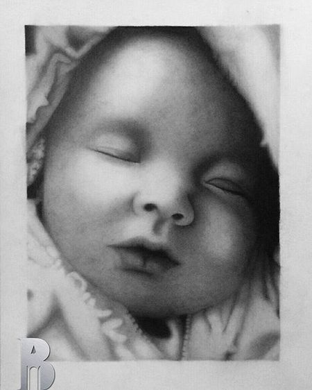"""""""An Angel's Dream"""" ✏👶 Pencil on paper, 2015 By Bryan Dalle Stelle Use the hashtag Bryandallestelle to have my opinion on your drawing ArtWork Art Drawing Instadaily Graphite Instagood Art_spotlight Bestoftheday Instalike Talnts Cute Worldofpencils Arthelp Instalike Bestoftheday Artsy Instamood Sketchbook Art_creative Artist Sketch Justartinspiration Pencil Instaart beautiful masterpiece art_motive photooftheday instaartist artoftheday"""