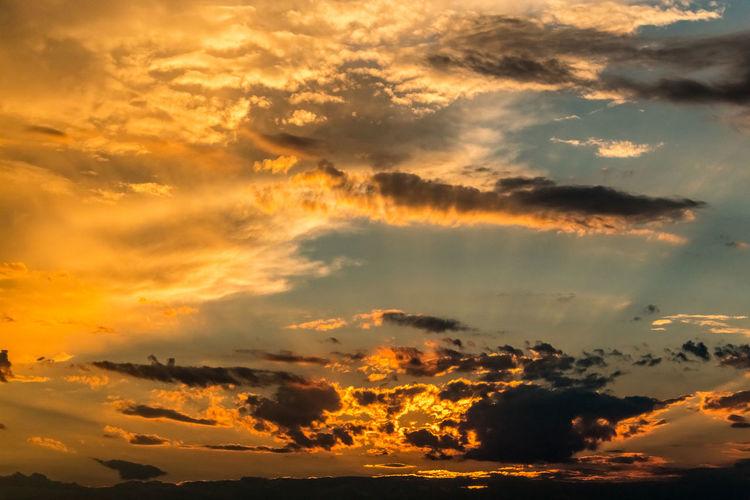 Sunset sky Croatia Croatia ❤ Backgrounds Beauty In Nature Cloud - Sky Cloudscape Croatia ♡ Croatiafulloflife Dramatic Sky Full Frame Hrvatska Idyllic Low Angle View Majestic Meteorology Moody Sky Nature No People Orange Color Outdoors Scenics - Nature Sky Sunset Tranquil Scene Tranquility