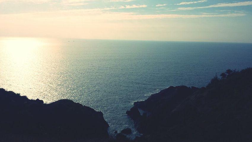 scenic. Sea