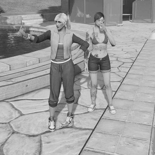 GTA GTAV Gta5 Girls Fuck Off Cola Drink PS4 Play
