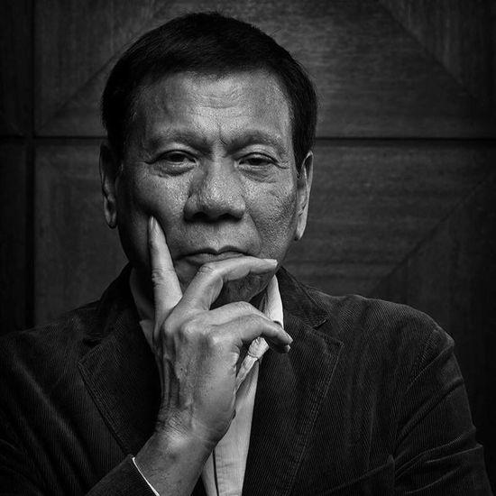 Mayor Rodrigo Duterte of Davao City. Close-up Confidence  Davao City Davao City Mayor EyeEm Best Shots Human Hand Mayor Person Perspective Philippines Portraits Rodrigo Duterte Senior Adult