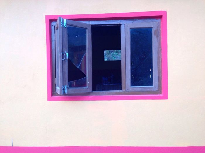 Window Open Window Pastal Nepal Local Countryside Pastel Power