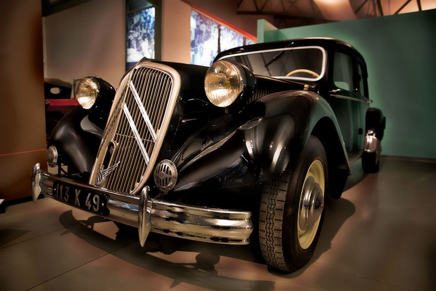 Art Black Car Cars Citroen Collection Collection Car Collector's Car Day France French Land Vehicle Le Mans Museum No People Old Old Car Old Cars Old-fashioned Outdoors Traction Transportation Voiture