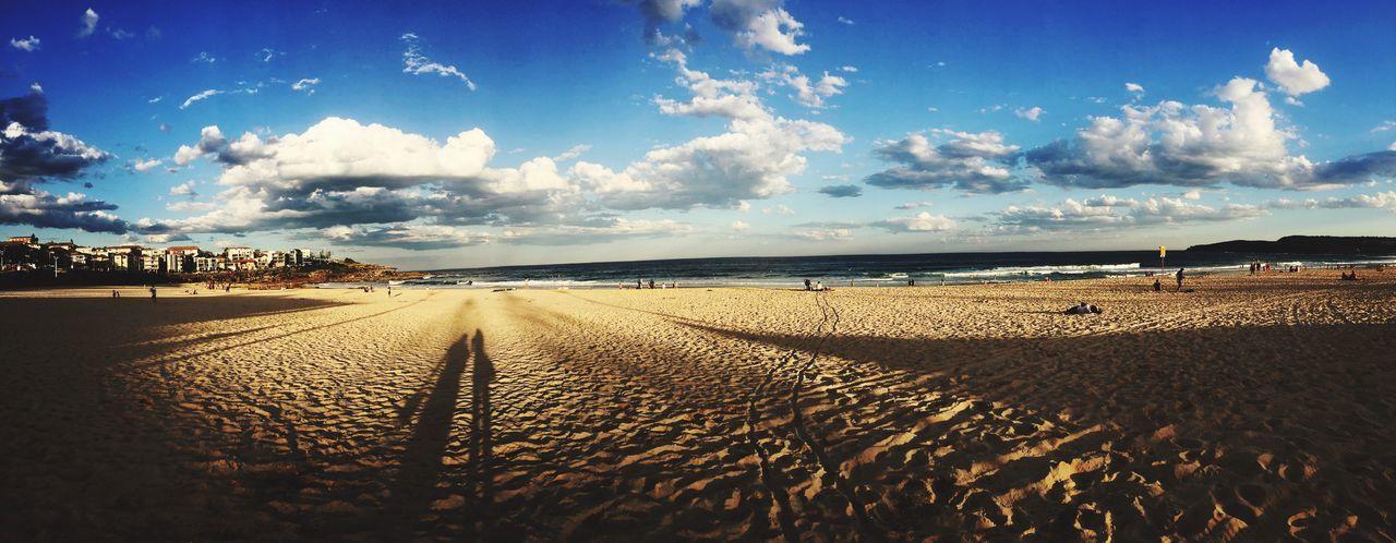 Finding New Frontiers Beach Sky Cloudporn Cloud - Sky Nature Sand Sea Horizon Over Water Beauty In Nature Sunset EyeEm Best Shots Travel Destinations Sydney, Australia Summer Beach Day