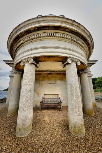 Rutland Water Architecture Built Structure Sky Architectural Column Building Exterior Day No People