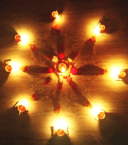 Celebration Lights Festival Illuminated Night Traditional Festival Cultures Diwalicelebrations Diwali Celebration Rangoli